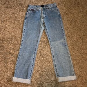 Tommy Hilifiger rolled mom jeans size 1/32